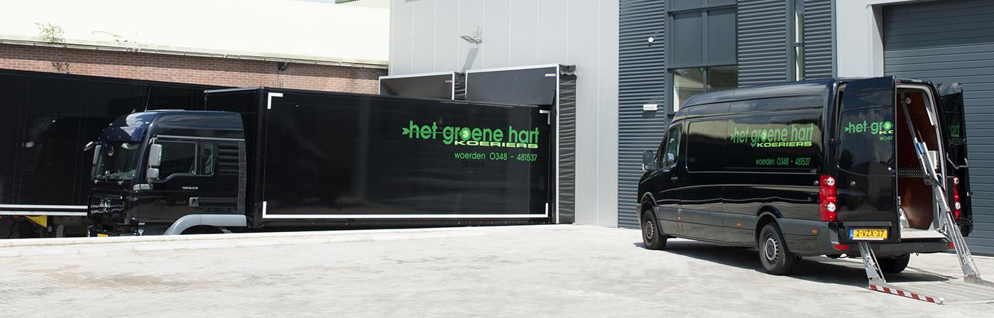 Het Groene Hart Koeriers Woerden Bezorgdiensten Bezorgen